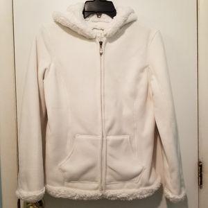 GreenTea Fluffy Fleece Jacket
